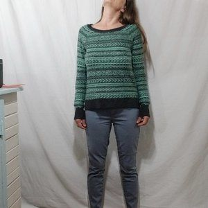 American Eagle Outfitters Sweaters - American Eagle wool blend green crop sweater